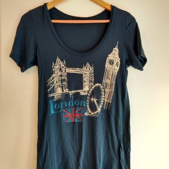 Truly Madly Deeply Tops - 4/$25 Truly Madly Deeply London Graphic Tee